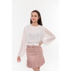Нежна бяла блуза Alexandra Italy / 5868