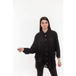 Черна дамска риза Alexandra Italy / 0732