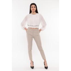 Бежов стилен панталон Alexandra Italy / 11447