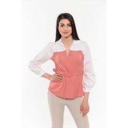 Блуза в розово и бяло Alexandra Italy / 15967