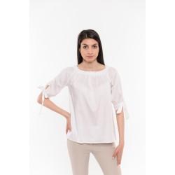 Бяла риза с връзки Alexandra Italy / 16118
