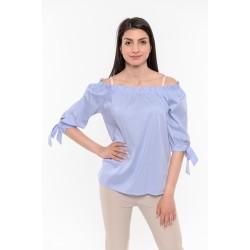 Синя риза с връзки Alexandra Italy / 16118