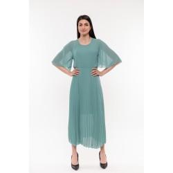 Плисирана синя рокля Alexandra Italy / 1534