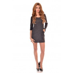 Дамска рокля Alexandra Italy 953/0 - черен цвят