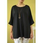 Дамска блуза Alexandra Italy 1377 - черна