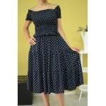 Дамска рокля Alexandra Italy 89821-синя