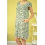Дамска рокля Alexandra Italy 2088 - зелена