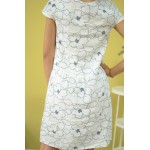 Дамска рокля Alexandra Italy 2088 - бяла