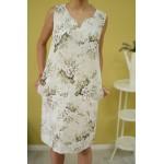 Дамска рокля lexandra Italy 9126 - бежова