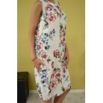 Дамска рокля Alexandra Italy 9126 - бяла