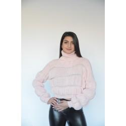 Ефектна къса дамска блуза