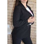 Дамско сако Alexandra Italy 2077 - черен цвят