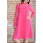 Дамска рокля Alexandra Italy 6775 - розов цвят