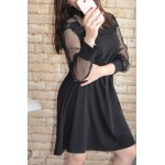 Дамска рокля Alexandra Italy 6775 - черен цвят