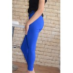 Дамски панталон Alexandra Italy 18008 - син цвят