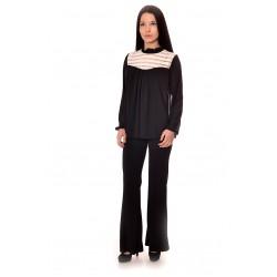 Дамска риза Alexandra Italy 1293 - черен цвят
