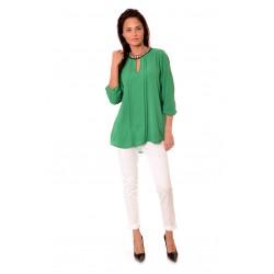 Дамска риза Alexandra Italy 177/0 - зелен цвят