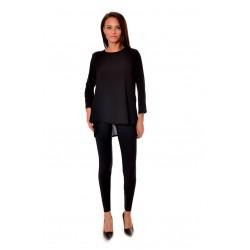 Дамска риза Alexandra Italy 178/0 - черен цвят