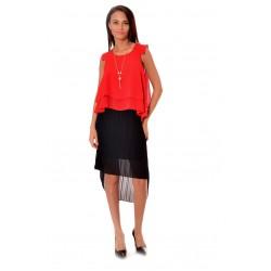 Дамска риза Alexandra Italy 188/0 - червен цвят