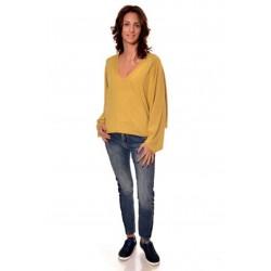 Дамска блуза Alexandra Italy 16-54 - жълт цвят