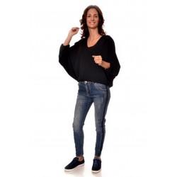 Дамска блуза Alexandra Italy 16-54 - черен цвят