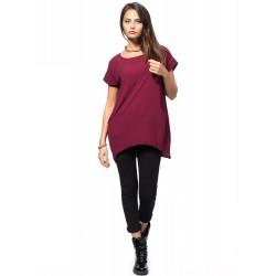 Дамска блуза Alexandra Italy 0045 - цвят бордо