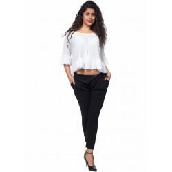 Дамска блуза Alexandra Italy 1088 - цвят бял
