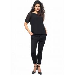Дамска блуза Alexandra Italy 1247 - черен цвят