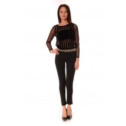 Дамска блуза Alexandra Italy 22312 - Черен