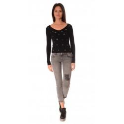 Дамска блуза Alexandra Italy 267- Черен