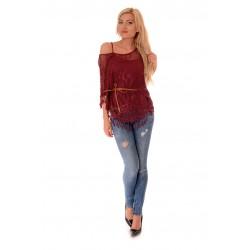 Дамска блуза Alexandra Italy 501/4, Бордо