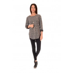 Дамска блуза Alexandra Italy 503/3-1 - Сив