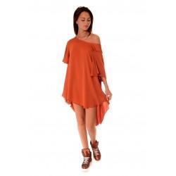 Дамска блуза Alexandra Italy 520/3, Кафява