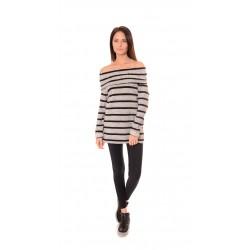 Дамска блуза Alexandra Italy 522/3 - Светлосив
