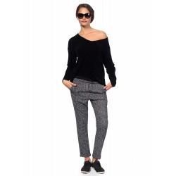Дамска Блуза от Alexandra Italy-531/0-Цвят черен