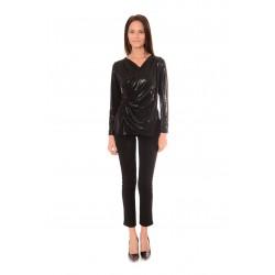 Дамска блуза Alexandra Italy 531/3 - Черен