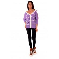 Дамска жилетка Alexandra Italy 534/00 - светло лилав цвят
