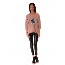 Дамска блуза Alexandra Italy 545/1- Розов