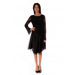 Дамска блуза Alexandra Italy 550/1-1 Черно
