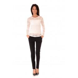 Дамска блуза Alexandra Italy 552/0, Бял