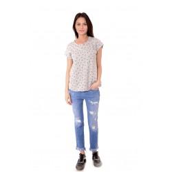 Дамска блуза Alexandra Italy 555/0 - сив цвят