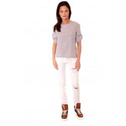 Дамска блуза Alexandra Italy 559/0 - сив цвят