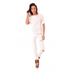 Дамска блуза Alexandra Italy 559/0 - бял цвят