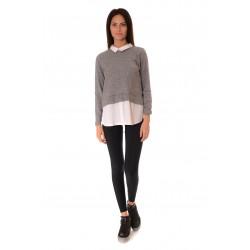 Дамска блуза Alexandra Italy 583/1 - Сив
