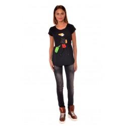 Дамска блуза Alexandra Italy 584/1, Черен