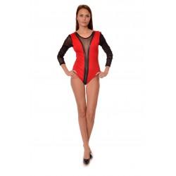 Дамско боди Alexandra Italy 595/0 - червен цвят