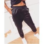 Дамски кожен панталон (спортен)