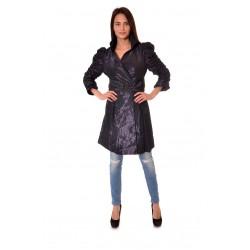Дамски шлифер Alexandra Italy 706/0 - тъмно син цвят