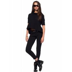 Дамски Панталон от Alexandra Italy-0034-Черен цвят