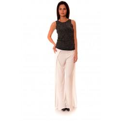 Дамски панталон Alexandra Italy 818/1, Бял